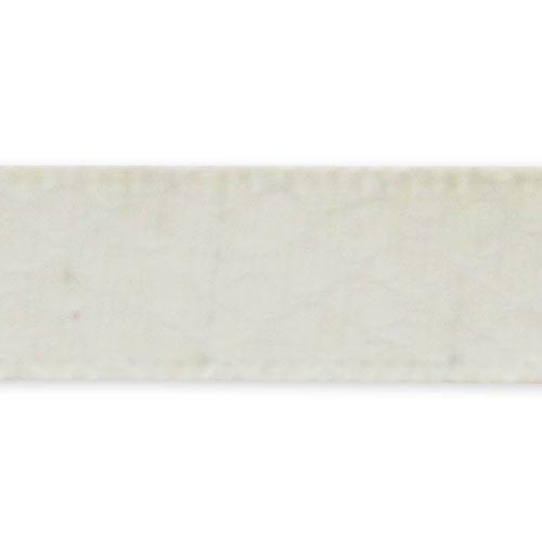 Nastro imitazione pelle di serpente mm. 12,5 Bianco x 1m