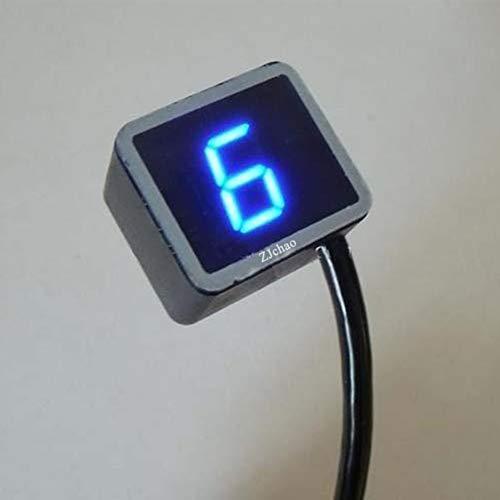 ZJchao(TM) - Indicador de marchas digital universal (8 marchas, pantalla LED, sensor...