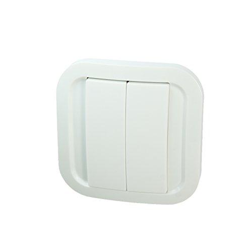 NOD ON Interruttore da parete bianco - Z-Wave Plus