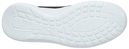 Kappa Speed Ii Btc, Scarpe da ginnastica Donna Nero (1110 nero/bianco)