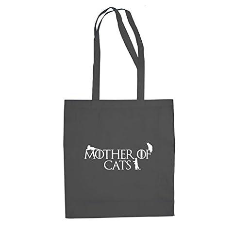 Mother of Cats - Stofftasche / Beutel, Farbe: grau (Internet Meme Kostüm)