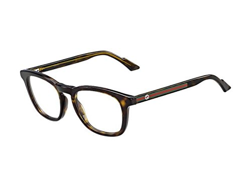 Gucci Frame DARK HAVANA WITH - LENS