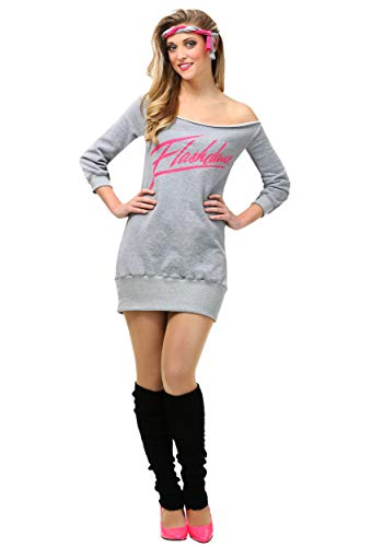 Women's Flashdance Costume, 5 Sizes