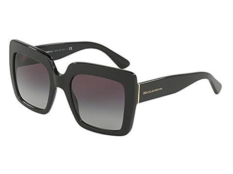 Dolce & Gabbana DG4310 Sunglasses 501/8G Black 52-21-140