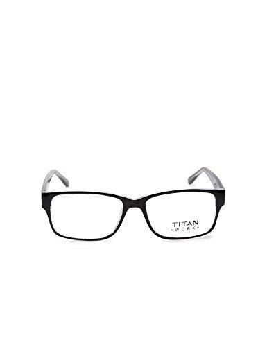Titan Full Rim Rectangular Men's Spectacle Frame - (E1399A1A1 52)