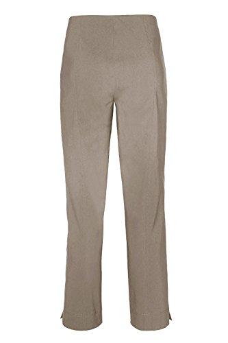Stehmann - Stretchhose INA 740 - VIELE FARBEN - Mit EXTRA-Fashion Armreif -Gerade geschnittene Pull-On Hose mit Schlitz Bambus