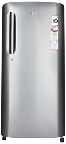 LG 190 L 3 Star Direct-Cool Single Door Refrigerator (GL-B201ADSW.ADSZEBN, Dazzle Steel)  available at amazon for Rs.14900