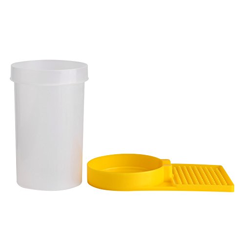 Naroote Bienenwasser-Zufuhr, Plastikbienen-Zufuhr-Bienenstock-Trinkschüssel-Bienen-trinkendes Ausrüstungs-Bienenhaltung-Werkzeug -