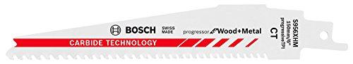 Bosch Professional 2608653099 S 956 XHM Hartmetall Säbelsägeblätter, 1 W, 240 V