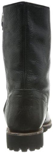 Blackstone HIGH ZIPPERBOOT FUR GL54 Damen Biker Boots Schwarz (Black)