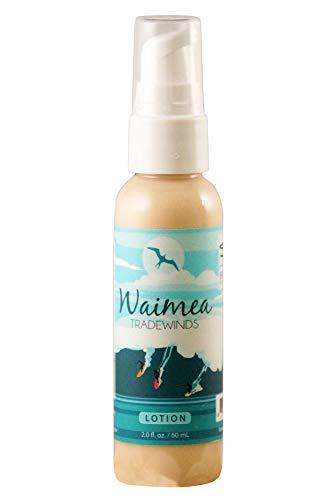 Hawaii Deluxe Bodylotion 60ml Rein Natürlich Vegan Ohne Chemie Alle Sorten Coconut Mango Plumeria Pikake Lavendel-Mint Green Tea Lime Sunset Mango Pipeline Coconut Cream Waimea Tradewinds (Waimea Tradewinds)