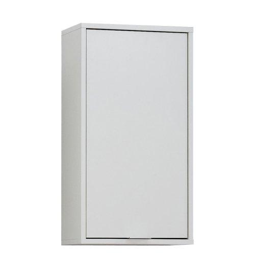13Casa - Ibis B5 - Pensile bagno. Dim: 37x17x68 h cm. Col: Bianco ...