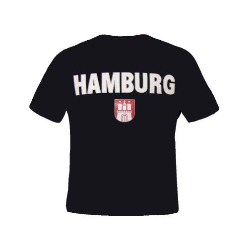 Brubaker \'Hamburg\' T-Shirt Schwarz Gr. S