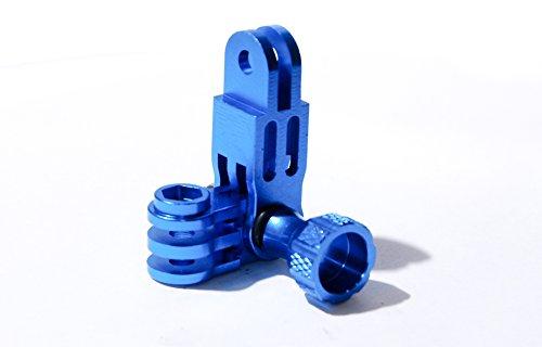 PROtastic alluminio verde 3vie Pivot braccio per GoPro Hero, SJCAM, Yi fotocamere - Riser Braccio
