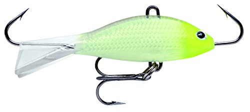 Rapala Jigging Shad Rap 05 5,1 cm Glow (Jigging Fishing Ice Rapala)