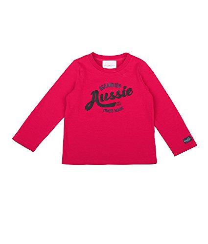 Oceankids Toddlers Jungen Rot Baumwolle Pullover mit Aussie Printing 4T 4 Jahre (Jungen Lands Schuhe End)