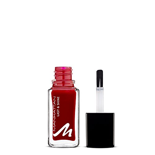 Manhattan Last & Shine Nagellack, Nr.680 Your Favorite, 1er Pack (1 X 10 ml)