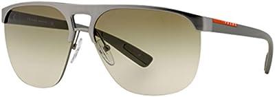 Prada Gafas de Sol 53QS (60 mm) Plateado