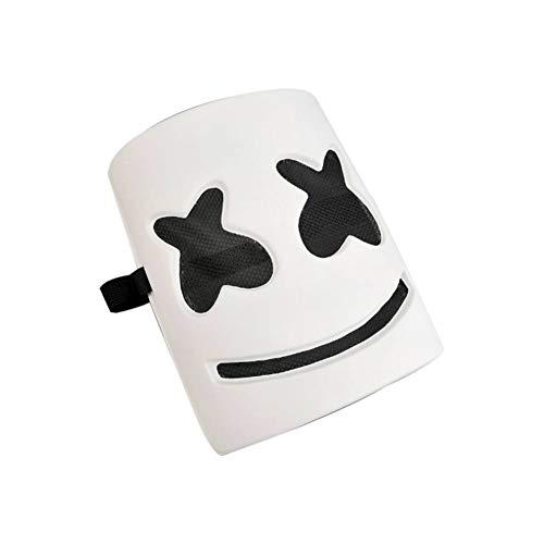 Artbro Cosplay DJ Maske, Musik Festival Masken, Neuheit Kostüm Party Tragen, Latex Latex Latexmaske, 8,7 '' * 8,7 '' (Ich Bin Nicht Tragen Ein Kostüm)