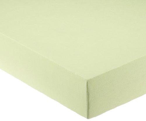 Pinolino 540002-3 - Spannbetttuch für Kinderbetten, Jersey, lemon