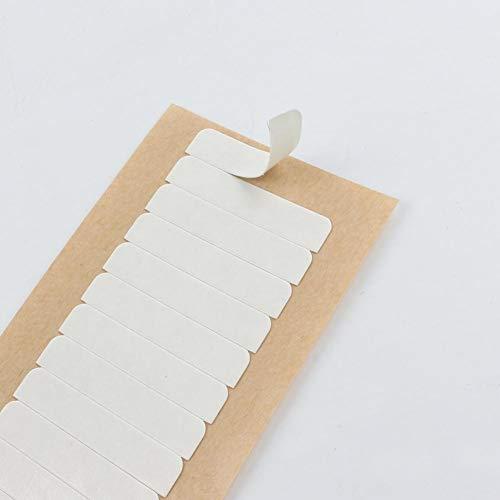 LaaVoo Tape Piezas Doble Cara Tape Replacement 4×0.8cm