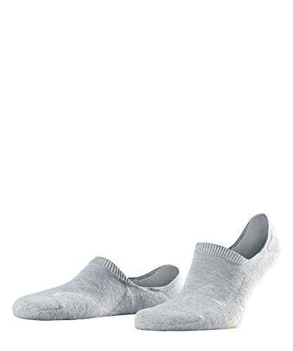 FALKE Unisex Cool Kick Invisible U IN Füßlinge, Blickdicht, Grau (Light Grey 3400), 37-38