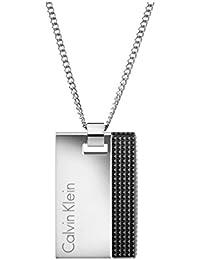 Calvin Klein Collar con colgante Hombre acero inoxidable - KJ4JBN200100