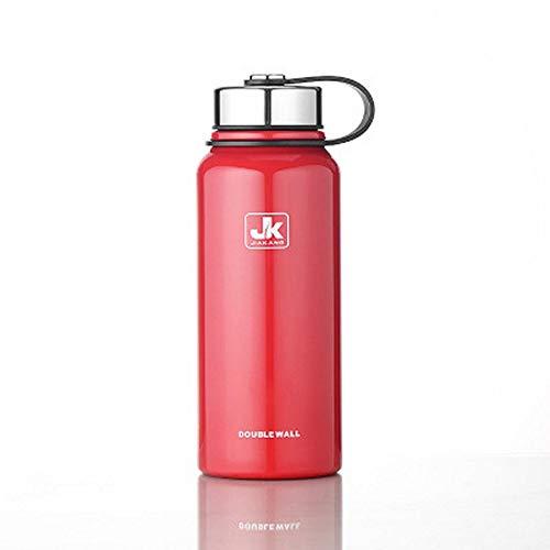 EQW Sport Flasche1100Ml Portable Edelstahl Outdoor Reise Isolierung Tee Infuser Thermoskanne Sport Wasserkocher, C