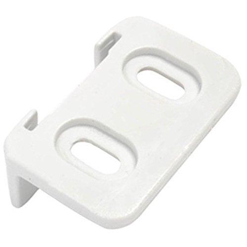 spares2go Schiebetür Scharnier Guide Slider Halterung für Beko Kühlschrank mit Gefrierfach - Kühlschrank Mit 2 Schiebetüren