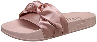 Puma Women's Pink-Silver Fashion Sandals-7 UK/India (40.5 EU) (36577403)