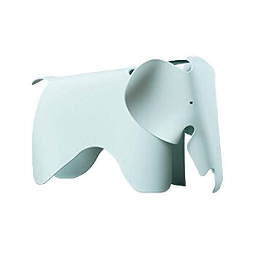 WFchairs Kindergartenstuhl, Kreativer Plastikelefantkarikaturstuhl Passend Für Tragbare Haupttrainingsklasse Der Farbspielwaren Graublau 78,5 X 41 X 41,5 cm Hocker (Color : Mint Green) -