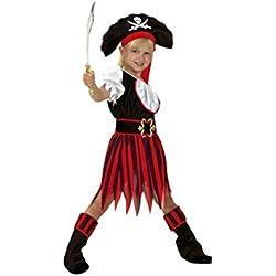 Traje de pirata para niña, diferentes tallas.