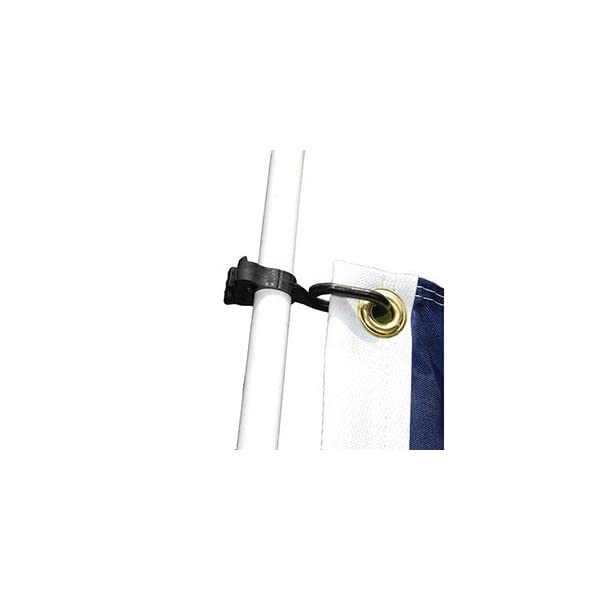 Taylor Made Products 57925 Charlevoix Antenna/Burgee Clip,Black