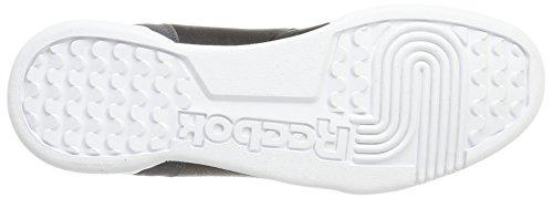 Reebok Workout Plus It, Sneakers Basses Homme Noir (Black/coal/white)