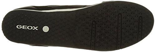 GeoxD Vega A - Scarpe da Ginnastica Basse Donna Nero (Blackc9999)