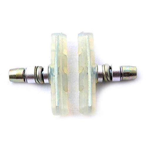KHE BMX MTB Bremsschuhe Prism 2 Stück transparent für optimale Bremsleistung - P2 70