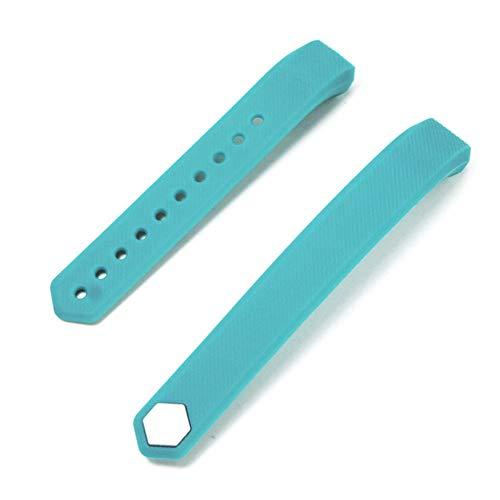 AchidistviQ Ersatz-Silikonarmband mit Armband für Veryfit ID115 / Lite/HR Green