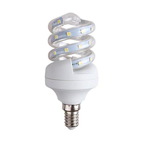 LineteckLED® A03.005.05F Lampadina LED a Spirale con attacco E14 5W