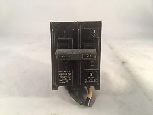 ROA Siemens 20A 2-polig Typ QP Leitungsschutzschalter -