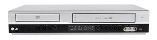 LG V 180 DVD-Player / VHS-Rekorder Kombination (DivX-zertifiziert) silber