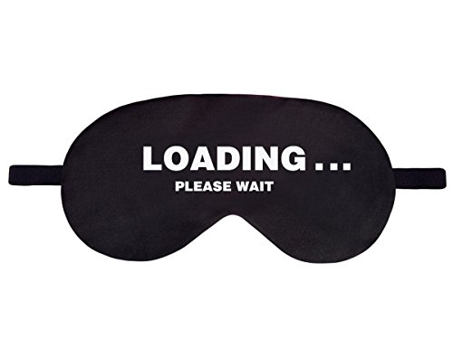 Schlafmaske Schwarz Loading please wait - 7,90 €