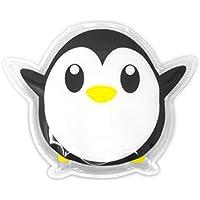 Cute Kids - Pack de frío y calor reutilizable (10 x 12 cm), diseño de pingüino