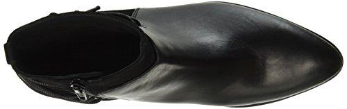 Kennel und Schmenger Schuhmanufaktur Damen Milla Kurzschaft Stiefel Schwarz (schwarz Sohle schwarz 630)