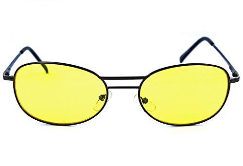 N&B Auto Nachtsichtbrille Anti-Blend und UV-Schutz Autofahrer-Brille Sicherheitsbrille