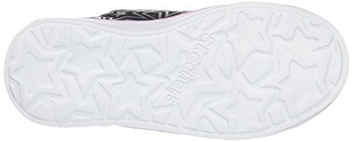 Skechers Twinkle Breeze Comet Cutie, Sneakers Basses Fille Noir (Bksp)