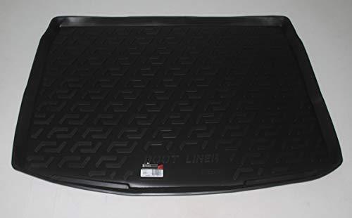 SIXTOL Auto Kofferraumschutz für den Nissan Qashqai II - Maßgeschneiderte antirutsch Kofferraumwanne für den sicheren Transport von Einkauf, Gepäck und Haustier