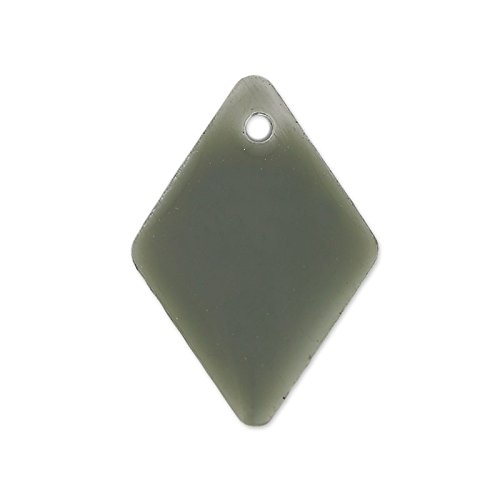rombi-in-smalto-epossidico-15-mm-grigio-x8