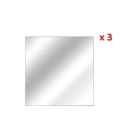 Fomax Espejos Adhesivos Cuadrados 20x 20cm-Set