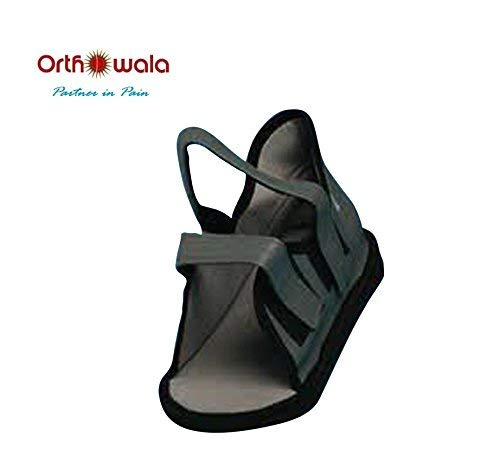 Orthowala Cast shoes Foot Support grey colour Size:XL (43-45)