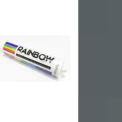 rainbow-ral-de-couleur-silicones-gris-fer-calfeutrer-mastic-ral-7011-300-ml